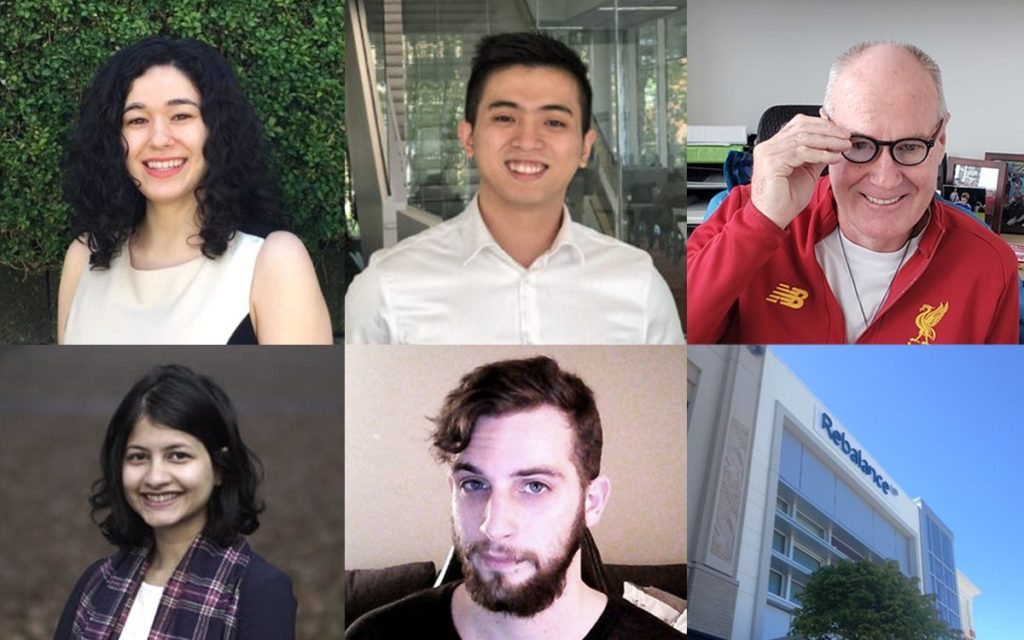 Collage of 2019 ACE-WIL student and industry partner award winners
